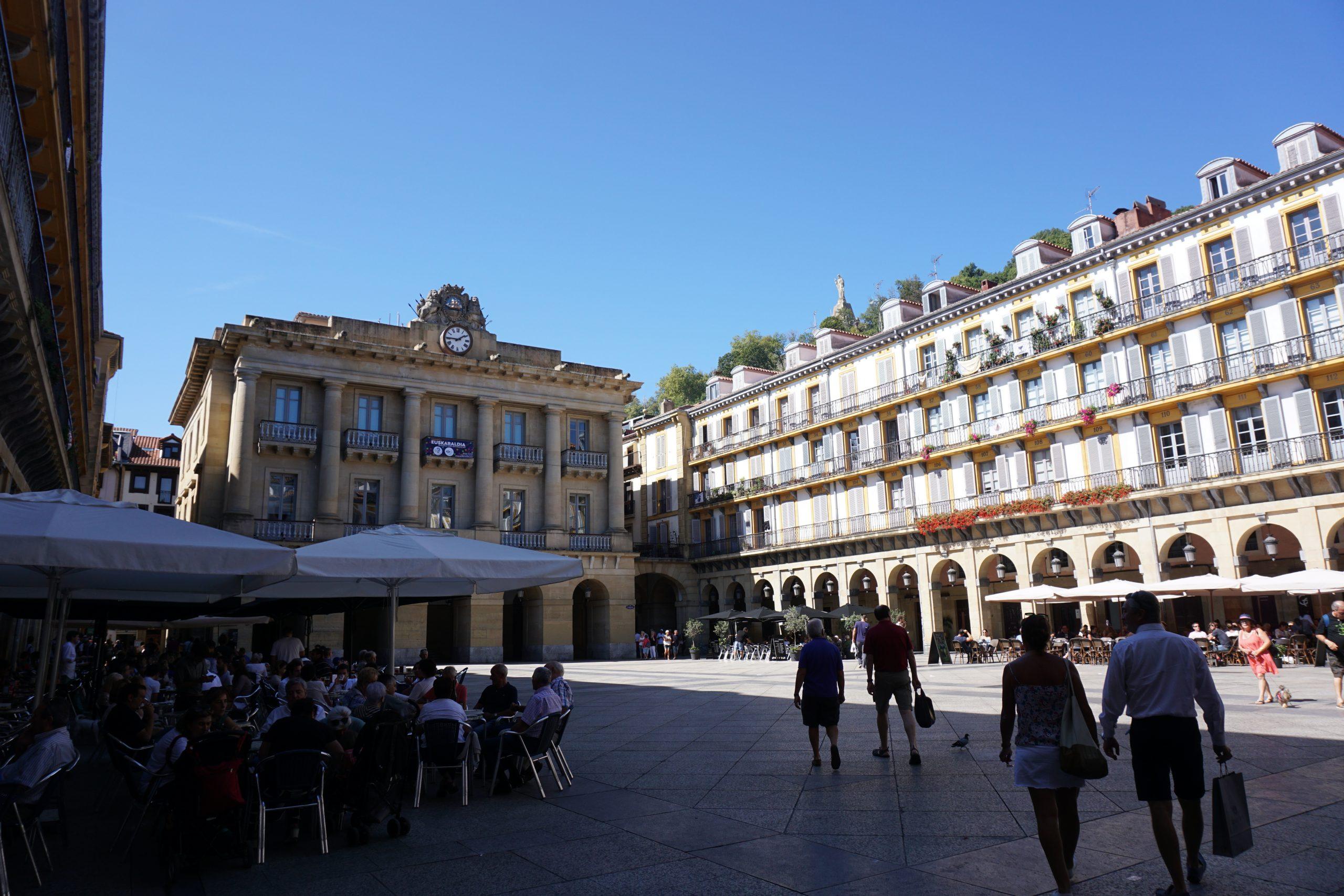 San Sebastian plein