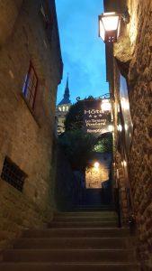Restaurant Mont Saint Michel avond