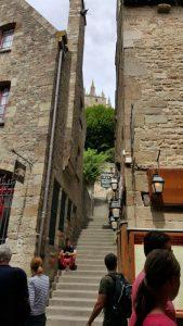 Trappen Mont Saint Michel