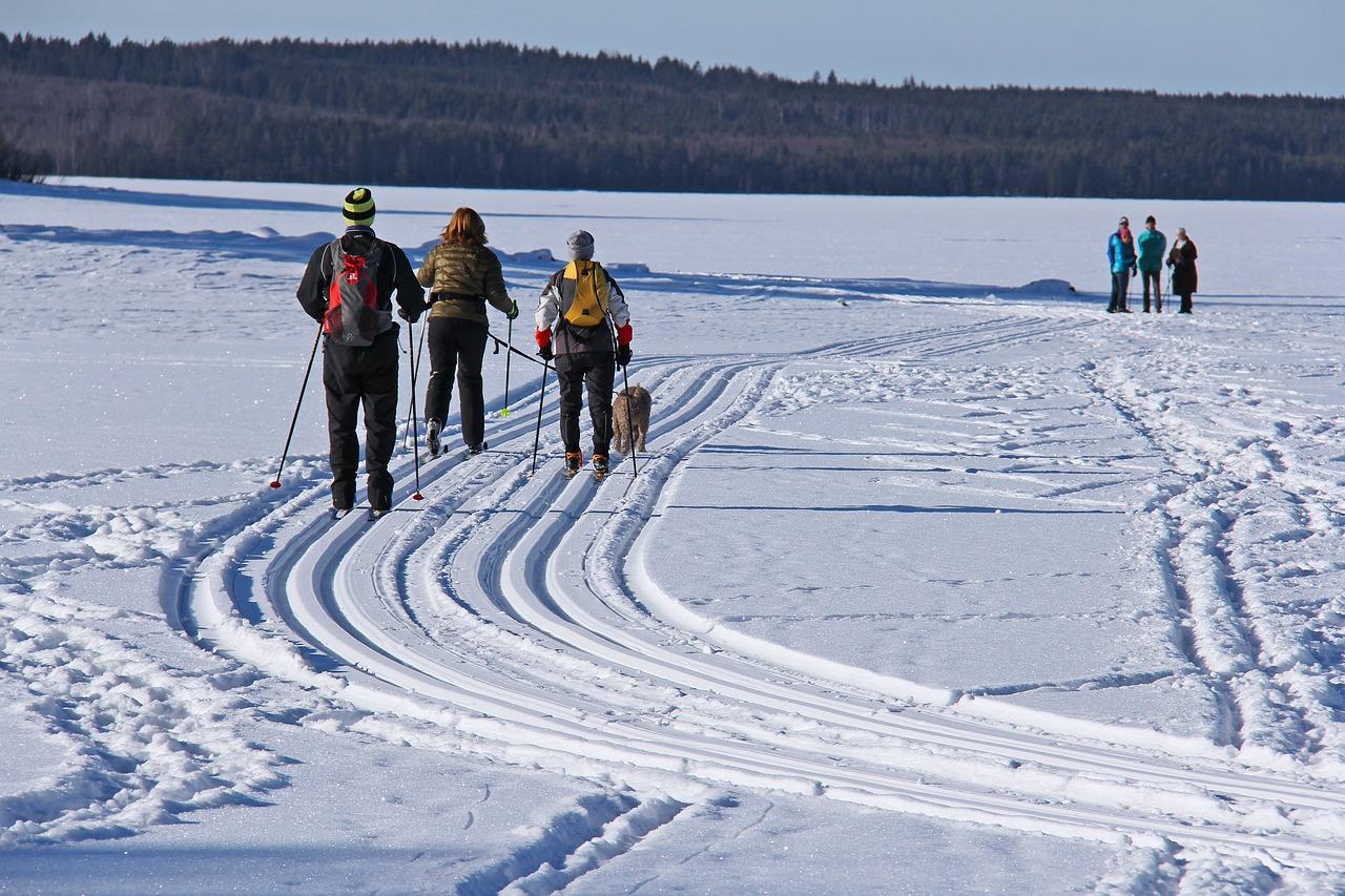 Wintersport in Zweden