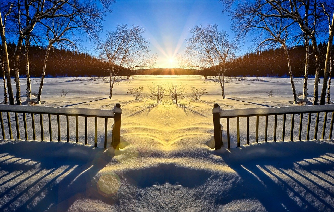 Sneeuw in Zweden