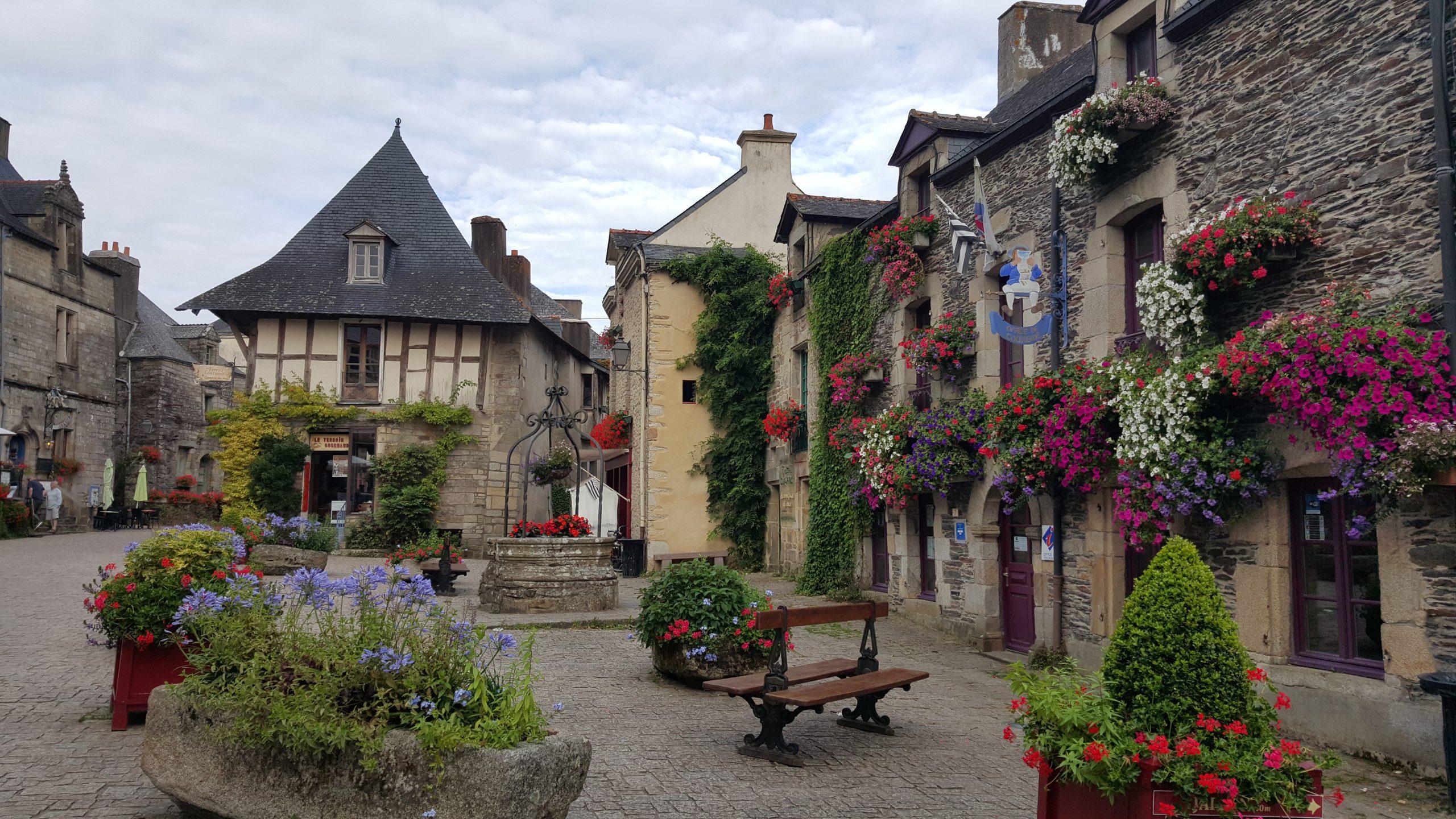 Rochefort-en-Terre, een verrassende 'citytrip' naar het Bloemendorp van Frankrijk