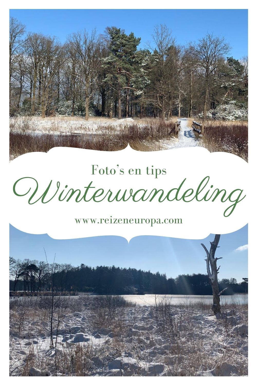 Winterwandeling Noord-Brabant