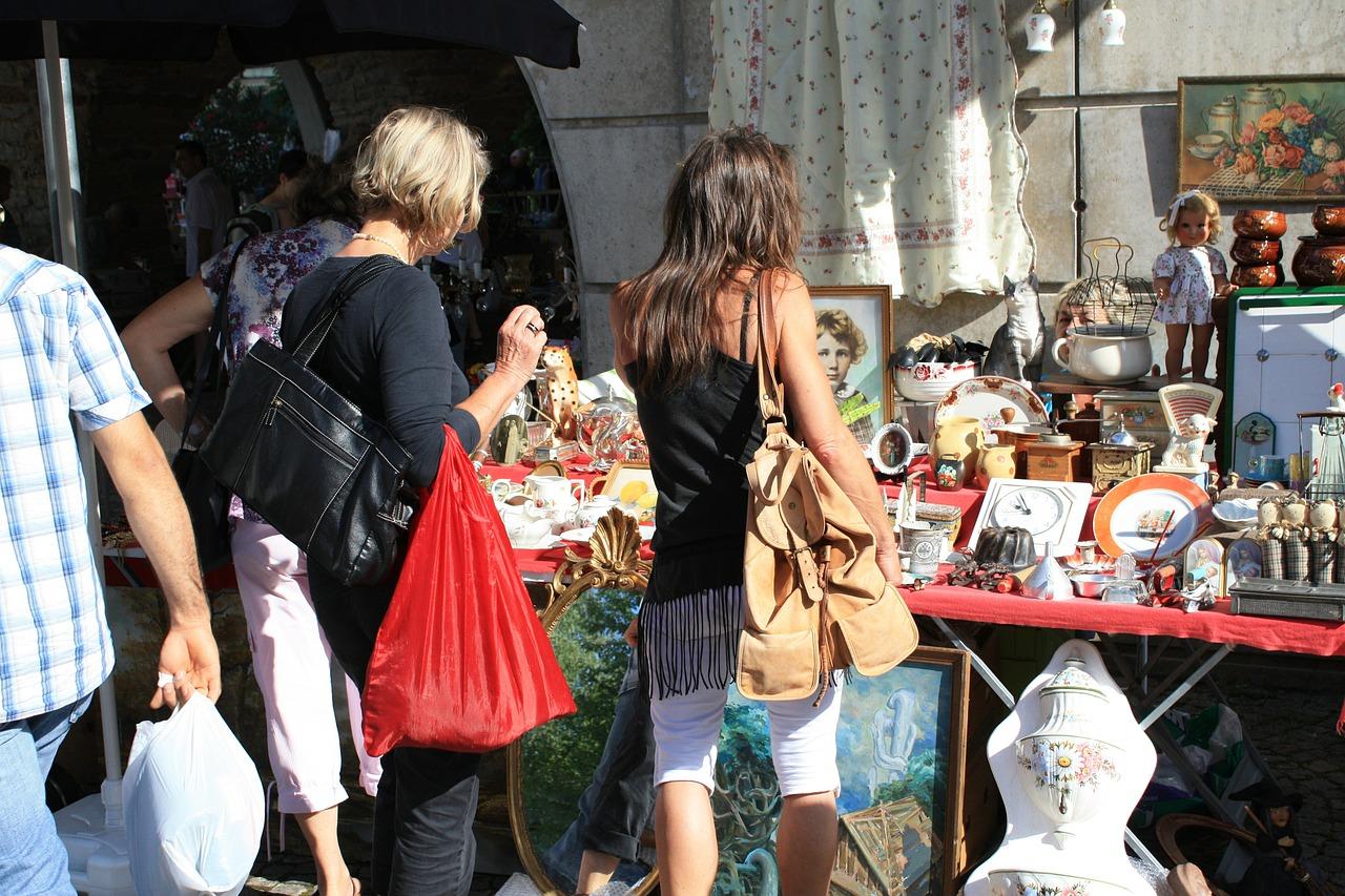 vide-greniers Frankrijk