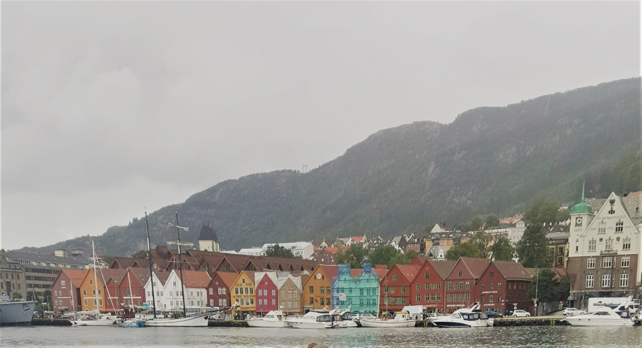Stedentrip naar Bergen, Noorwegen
