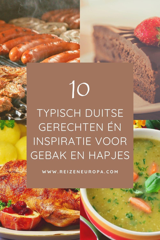 10 typisch Duitse gerechten