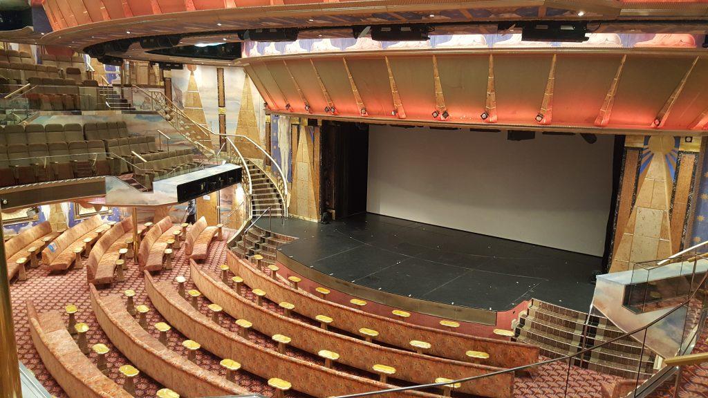 Theater cruiseschip