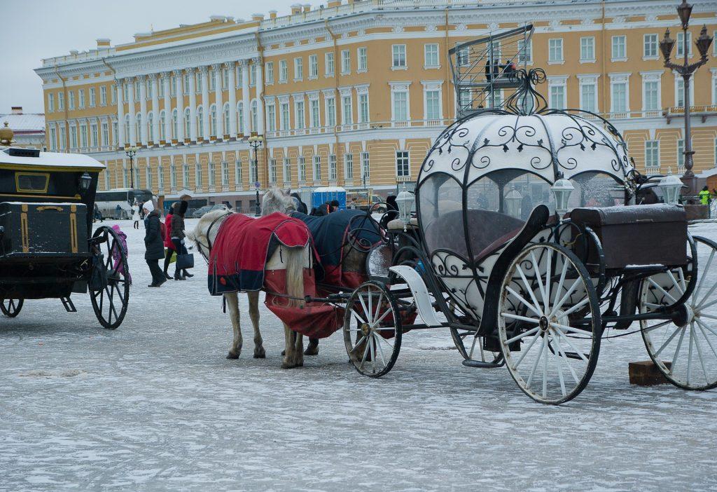 Paleisplein Sint Petersburg