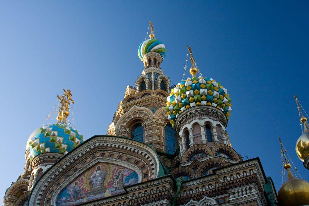 Kerk van de Verlosser op het Bloed stedentrip Sint-Petersburg