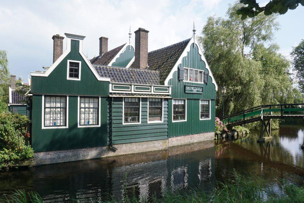 Zaanse Schans groene huisjes