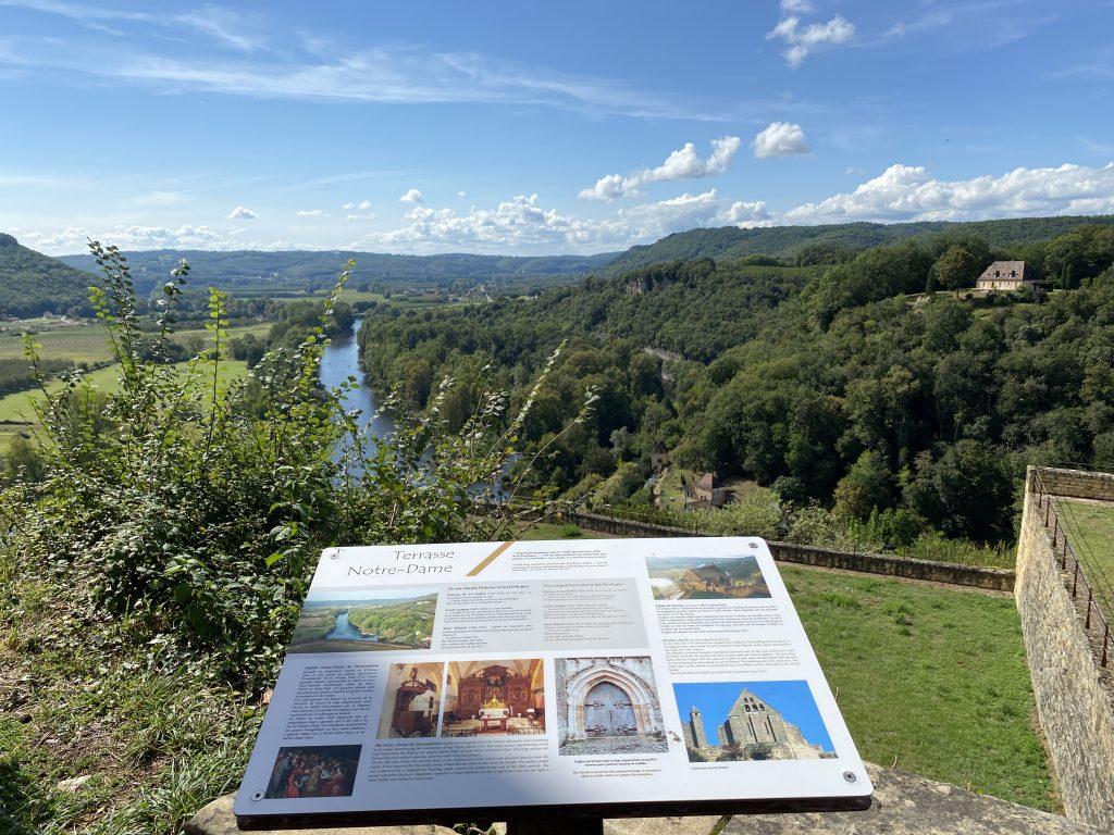 Beynac-et-Cazenac uitzicht Dordogne